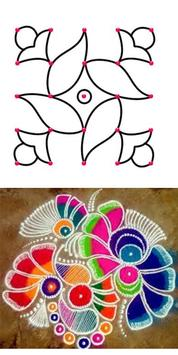 Simple And Easy Rangoli Designs poster