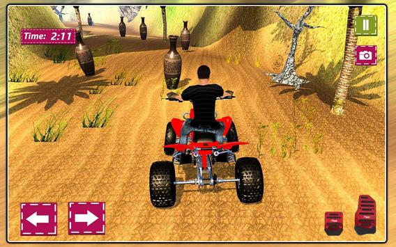Mini Atv Beach Buggy Hill Adventure 3D screenshot 13