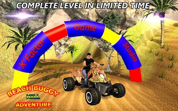 Mini Atv Beach Buggy Hill Adventure 3D screenshot 4