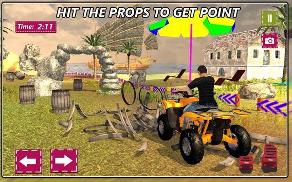 Mini Atv Beach Buggy Hill Adventure 3D screenshot 6