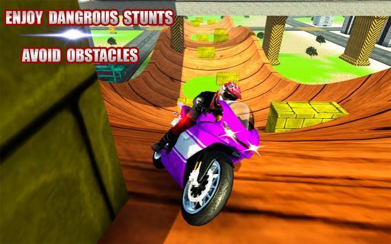 City GT Motorbike Rider screenshot 13