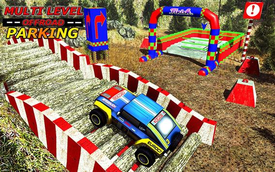 Multi Level OffRoad Parking 3D poster