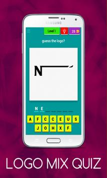 Logo Mix-Quiz poster