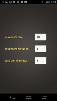 Tuk Tuk Meter screenshot 1