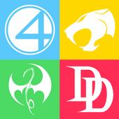 Guess the Superhero Logo icon