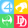 Guess the Superhero Logo icon