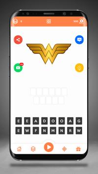 Guess the Superhero Logo screenshot 6