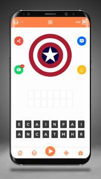 Guess the Superhero Logo screenshot 7