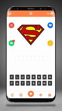 Guess the Superhero Logo screenshot 1