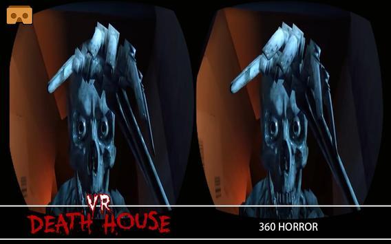 VR Death House : 360 Horror Video Game apk screenshot