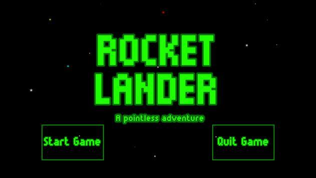 Rocket Lander APA screenshot 1
