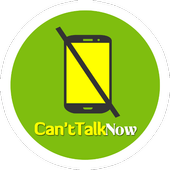 Can't Talk Now icon