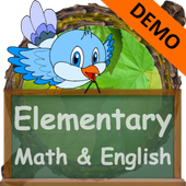Math & English Worksheets DEMO icon