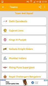 Cricket Schedule 2017 apk screenshot