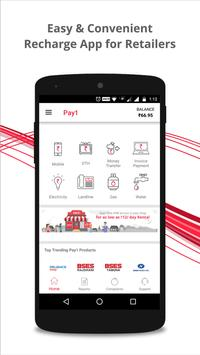 Recharge, DTH, Bill payment, Money transfer poster