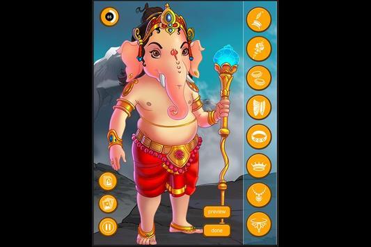 Dress Up Ganesha screenshot 2