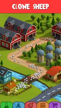 Idle Wool - Money Clicker Tycoon Game poster
