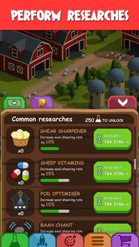 Idle Wool - Money Clicker Tycoon Game screenshot 1