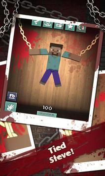 Destroy Miner Steve poster