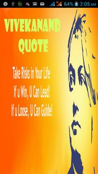 Vivekanand Quotes poster