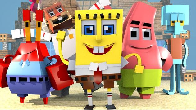 Addon For Minecraft Spongebob APK Download Free Art Design APP - Spongebob skins fur minecraft