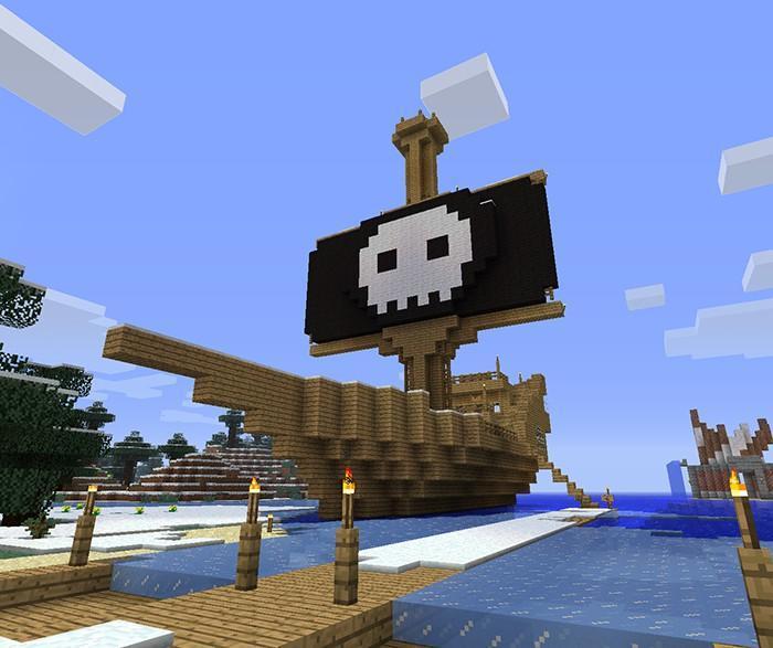 пиратский майнкрафт на андроид #1