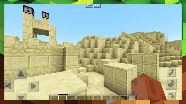 2018 Egypt Pyramid Survival Adventure Map MCPE screenshot 17