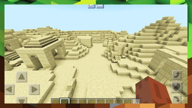 2018 Egypt Pyramid Survival Adventure Map MCPE screenshot 1