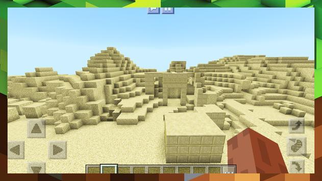 2018 Egypt Pyramid Survival Adventure Map MCPE screenshot 4