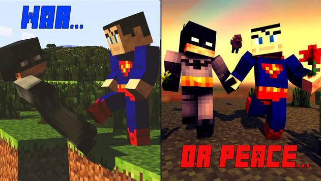 Skin Minecraft Batman Superman APK Download Free Tools APP For - Skins para minecraft pe de batman