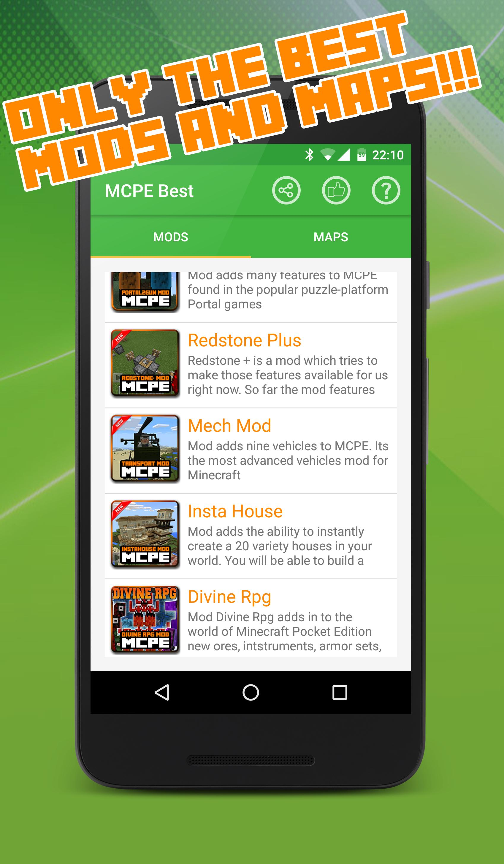 Best Mods and Maps for Minecraft for Android - APK Download