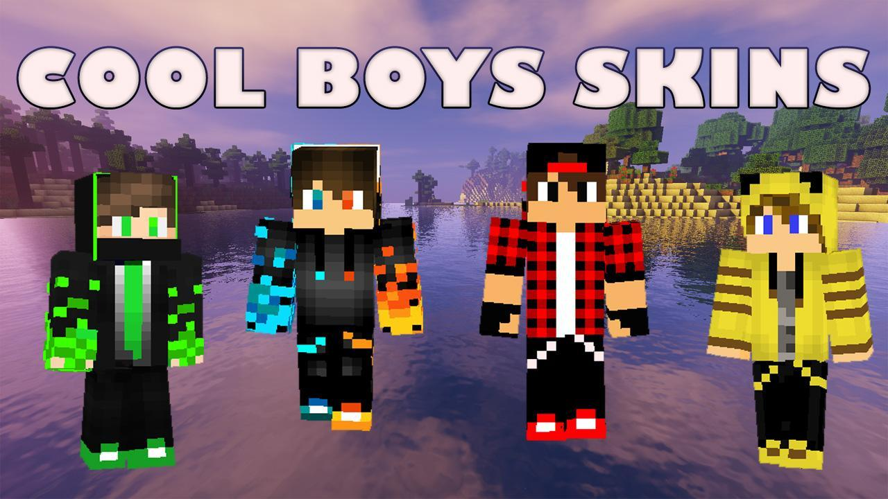 Boy skins for Minecraft PE for Android - APK Download