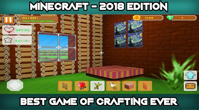 Blockcraft 2018 : Crafting and Building for Android - APK