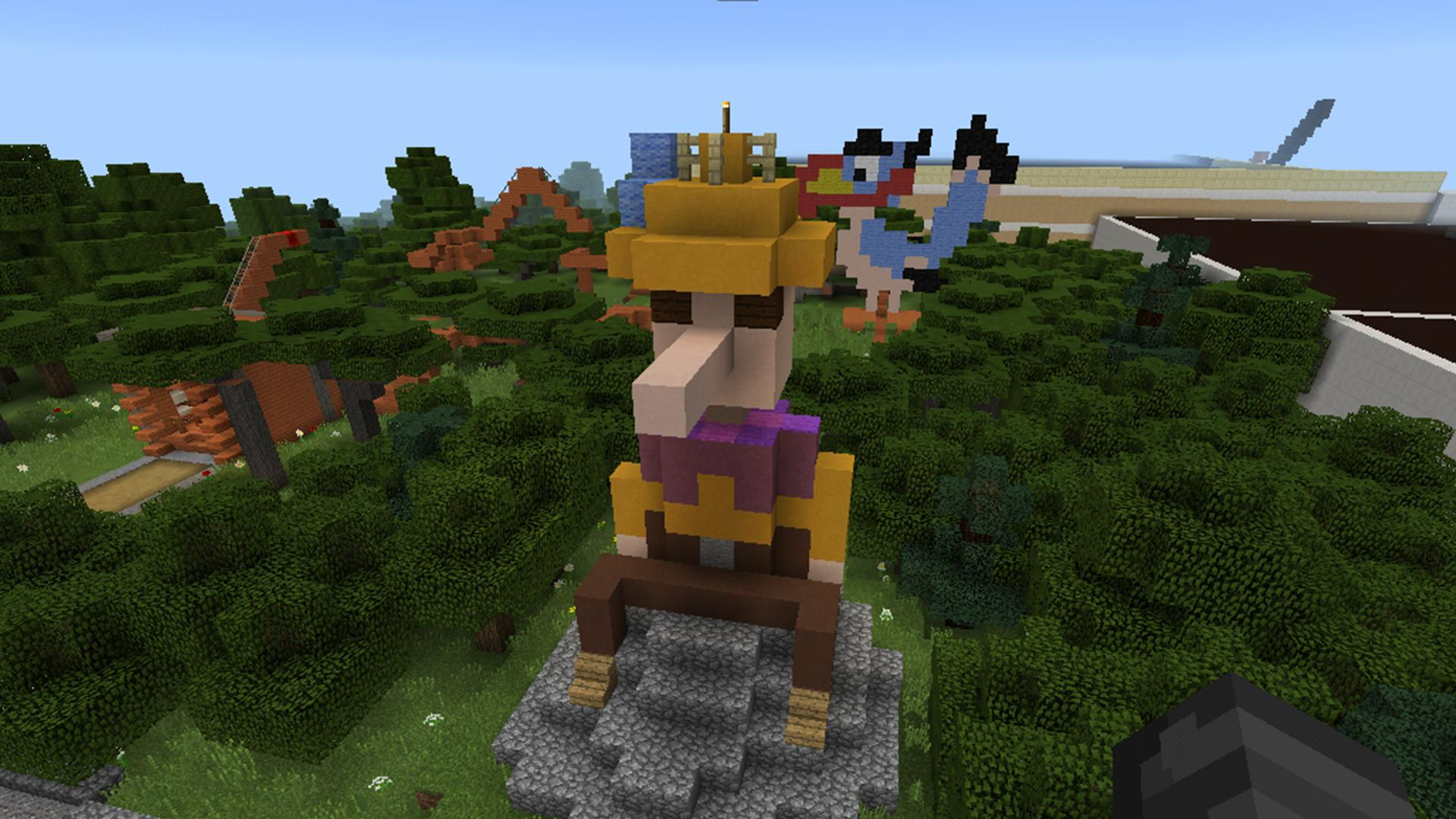 Map DisneyLand for Minecraft PE for Android - APK Download on
