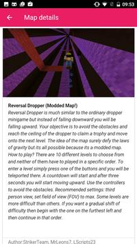 Dropper maps for Minecraft PE poster