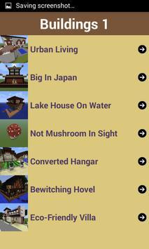 House Guide:Minecraft Building apk screenshot