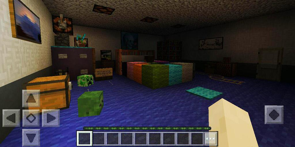Map FNAF-4 for MCPE (・人・) for Android - APK Download