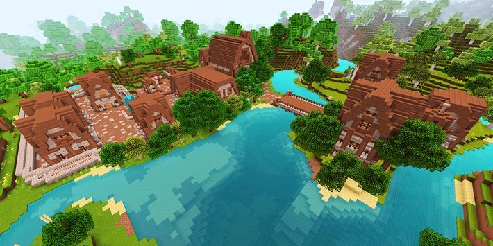 Ruhig Village MCPE map screenshot 5