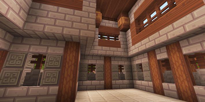 Ruhig Village MCPE map screenshot 1