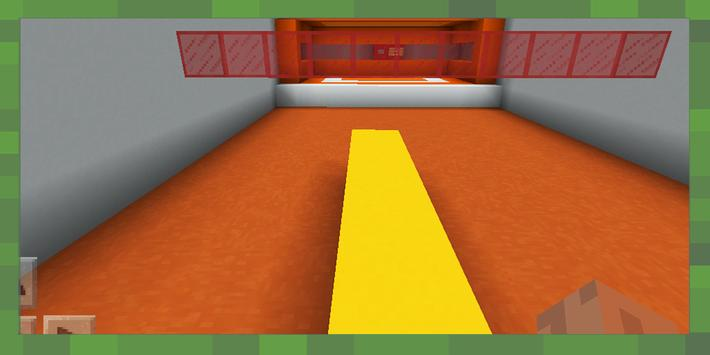 Parkour Path Challenge. Map for MCPE poster