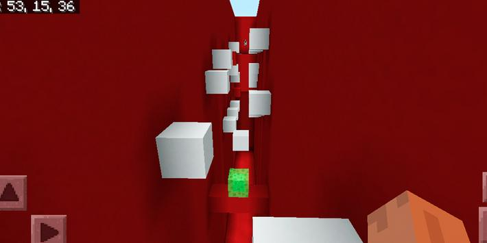 Delirious Parkour Challenge. Map for MCPE screenshot 15