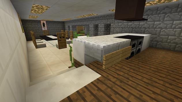 Casa Moderna MCPE map apk screenshot