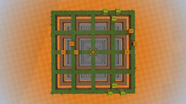 The Grid Survival Map MCPE screenshot 1