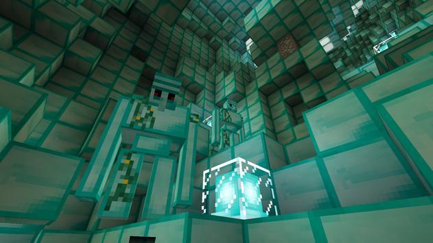 Diamond Dimension map MCPE apk screenshot