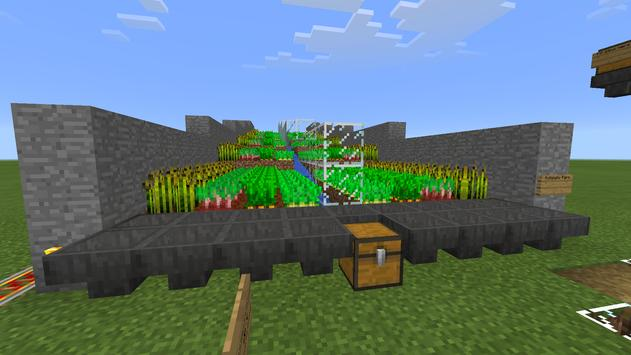 8 Automatic Farms MCPE map apk screenshot