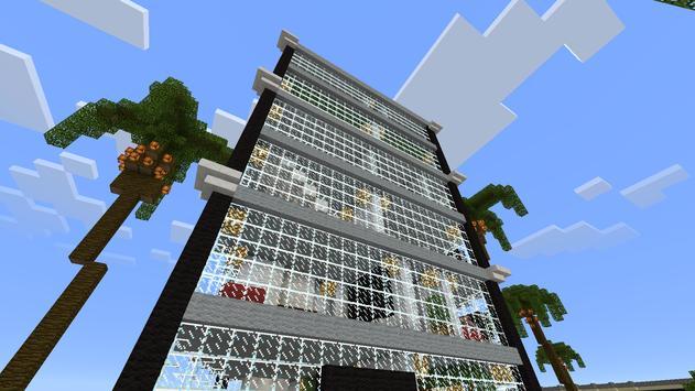 iCraft City MCPE map apk screenshot