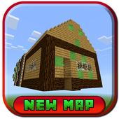 Smart Flying House MCPE map icon