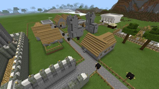Paladin Castle map MCPE apk screenshot