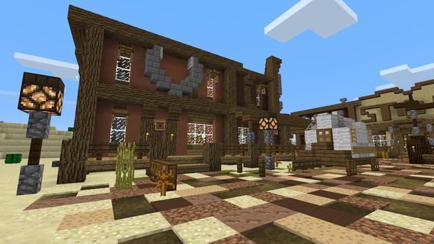 Wild Wild West MCPE map apk screenshot