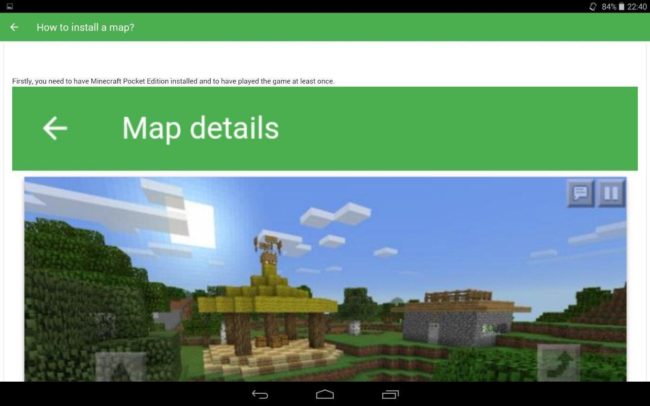 приложения для планшет карты майнкрафта #4